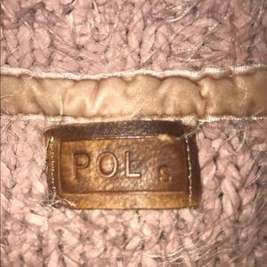 POL sweater with bell sleeve
